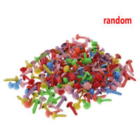 200PcMixed Color Metal Brad Paper Fastener For Scrapbooking Craft 8mm C5N0