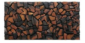 3D Reclaimed Wall Tiles, Wall Coverings, Wall Cladding Panels, 3D Wooden Panels