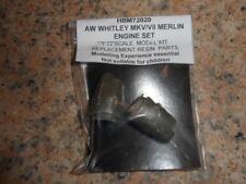 1/72 paire de résine A.W. Whitley MKV moteur nacelles mise à niveau/conversion set