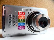 Pentax Optio E60 10.1MP Digital Camera - silver.