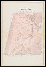 HINSDALE PERU HILL PLAT ATLAS MAP MASSACHUSETTS 1904 BERKSHIRE COUNTY PERU