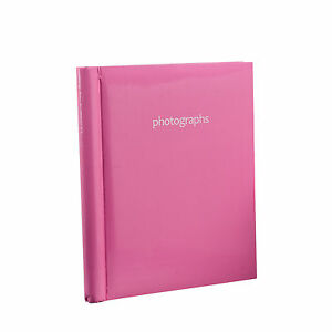 Pink Large Self Adhesive 20 Sheets 40 Sides Photo Albums For Ideal Gift- SM40PK