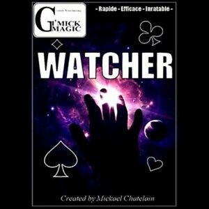 *Sale Item* Watcher (DVD and Gimmick) by Mickael Chatelain - DVD - Magic Tricks