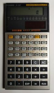 Casio fx-50F Scientific Calculator Tested and Complete (Box and Manual)