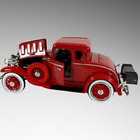 The National Motor Museum Mint 1932 Chevy Roadster Fire Chief Car Diecast 1:32