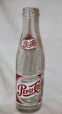 "Vitnage Sparkling Pepsi Cola Embossed Words ""Pepsi Cola"" bottle New York NY"