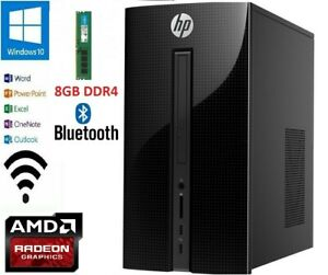 HP Pavilion 510-p188a PC/AMD A8-9600/8GB DDR4/1TB AMD Radeon R7/WIN10/OFFICE