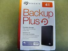 Seagate Backup Plus  4 TB,External (STDR4000100)   NEW SEALED NO RESERVE!!!