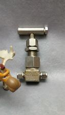 "Dragon 1/4"" Needle Valve P500F354DBH, Rated 3600WOG, Material A182F316 P5F354T"