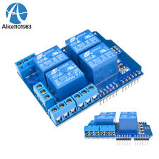 DC 5V 4 Channel Relay Shield Terminal Expended Board for Arduino UNO R3