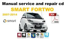 smart car 2007-2014 workshop service and repair manual