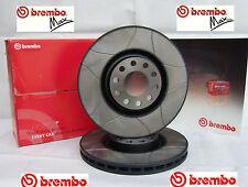 Satz (2 Stück) BREMBO MAX Sportbremsscheiben 08.5085.75 hinten alfa, Fiat,Lancia