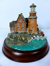 "Hawthorne "" Lighting The Way "" Lighted Lighthouse - Thomas Kinkade - Works"