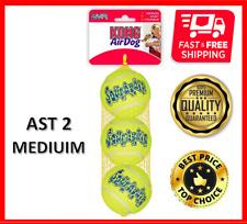Kong Airdog Squeakair Tennis Ball 3 pack, Medium, FREE AND FAST SHIPPING