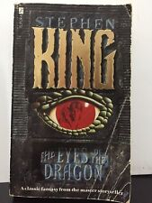 Eyes of the Dragon by Stephen King (PB, 1988 1st edition) vintage