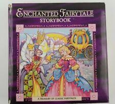 Vintage 1996 Enchanted Fairytale Storybook Landoll Inc. Fairtyale Bedtime Coll.