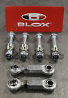Blox Racing Rear Sway Bar Adjustable End Links Set For Honda Acura Civic Integra