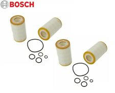 Fits Dodge Mercedes W164 E55 AMG G55 Set of 4 Oil Filters Bosch Workshop 72204WS