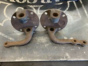 1938 1939 1940 Ford Car Round Back Spindles Juice Brakes 1932 Model A T