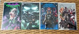 DC Batman 4 Book Lot - (9.2-9.6) - Ngu, Ejikure, Suayan, & Kirkham Covers