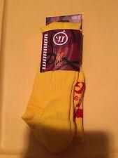 NEW Warrior EPL Liverpool LFC Away  Socks Soccer - Yellow Mens size 7-9  $22