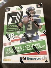 2020 Panini Donruss Football Holiday Blaster Box NEW RELEASE IN HAND!