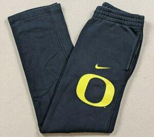 Nike University of Oregon Ducks Straight Leg Sweatpants Black/Yellow Men's Small