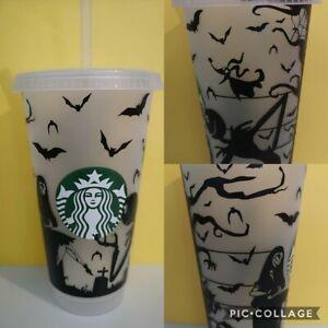 Disney Nightmare Before Christmas Starbucks Mug Cup Tumbler