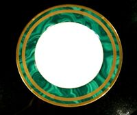 Beautiful Christian Dior Gaudron Malachite Salad Plate