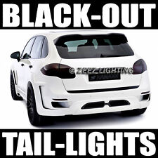 Dark Smoked Black-Out Taillight Tint Head Fog Tail Light Tinted Vinyl Film C95