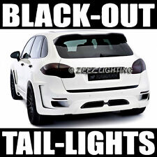 Dark Smoked Black-Out Taillight Tint Head Fog Tail Light Tinted Vinyl Film C91