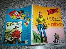 TEX GIGANTE N.59 ORIGINALE 1°EDIZIONE(con continua)200 lire TIPO ZAGOR ARALDO