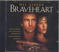 JAMES HORNER - Braveheart - LONDON SYMPHONY ORCHESTRA CD OST 1995 COME NUOVO