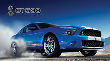 """SHELBY COBRA GT 500 MUSTANG FORD SVT  43"""" x 24"""" LARGE HD WALL POSTER PRINT NEW."""