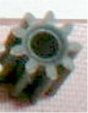 """Steel Pinion Gear 10 Tooth  64 Pitch .090"""" shaft NOS Slot Car  1/24  1/32"""