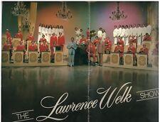 1970s Lawrence Welk program SIGNED by Myron Flores