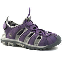 GIRLS BOYS HI-TEC SPORTS WALKING SANDALS SIZE UK 10 - 5 ADVENTURE SHORE CURRANT