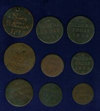 "NETHERLANDS EAST INDIES  ""SUMATRA"" COINS 1819-1838"