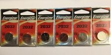 Energizer CR2032 Lithium 3V Batteries expires 2024 new Lot of 6
