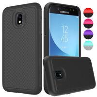 For Samsung Galaxy J3 Orbit Case Shockproof Hybrid Dual Layer PC+TPU Hard Cover