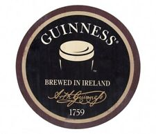 Guinness Pint Wooden Bottle Top Sign Ireland Irish Beer Wood Wall Art NEW