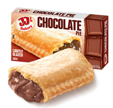 JJ's Bakery Lightly Glazed Snack Pies (Pack of 3) (CHOCOLATE) Remember Hostess