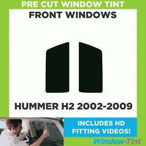 Pre Cut Window Tint - Hummer H2 2002-2009 - Front Windows