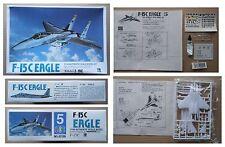 F-15C EAGLE Jet Fighter NORTHROP F15 model kit modellismo vintage Lee 1/144