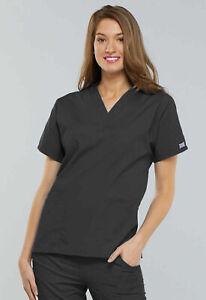 Pewter Cherokee Scrubs Workwear Originals V Neck Top 4700 PWTW Size 5X (NEW)