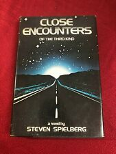 Close Encounters Of The Third Kind by Steven Spielberg 1977 Hardcover Book Bce