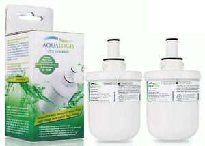 2x Aqualogis Frigde Water Filter Fits Samsung Aqua-Pure DA29-00003F HAFIN1EXP