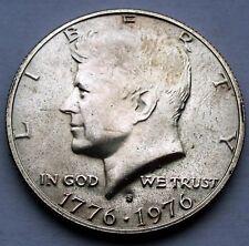 USA Kennedy Half Dollar 1976 S Silver, Bicentennial design F8.2