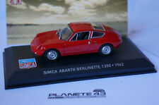 ALTAYA SIMCA ABARTH BERLINETTE 1300 1962 1/43