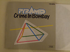 "Pyramid-Crime in Bombay/meutre a Bombay 3 Track 12"" MAXI Metronome 1986 NM"
